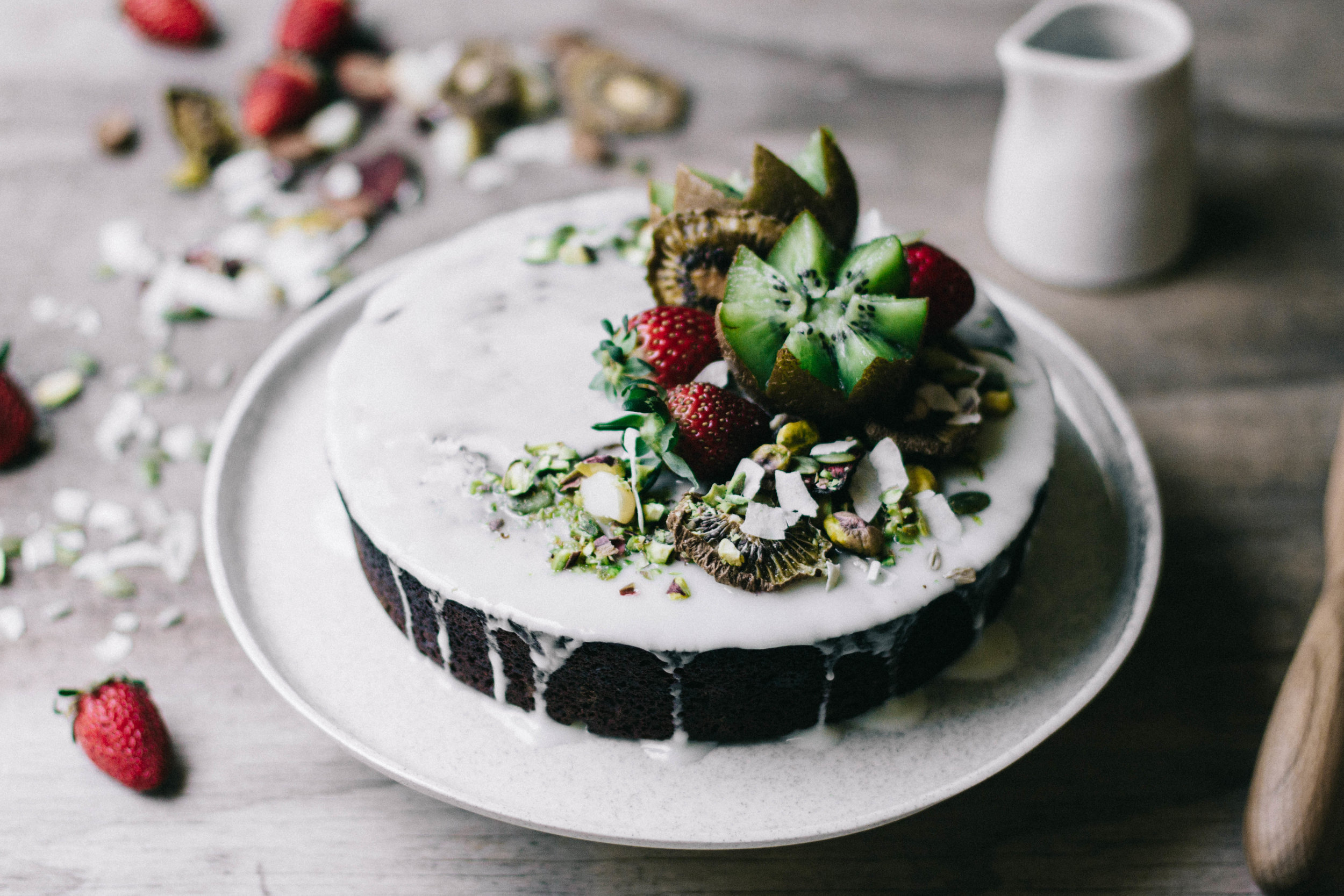 Lemon, Poppy Seed & Lavender Cake⎜The Botanical Kitchen