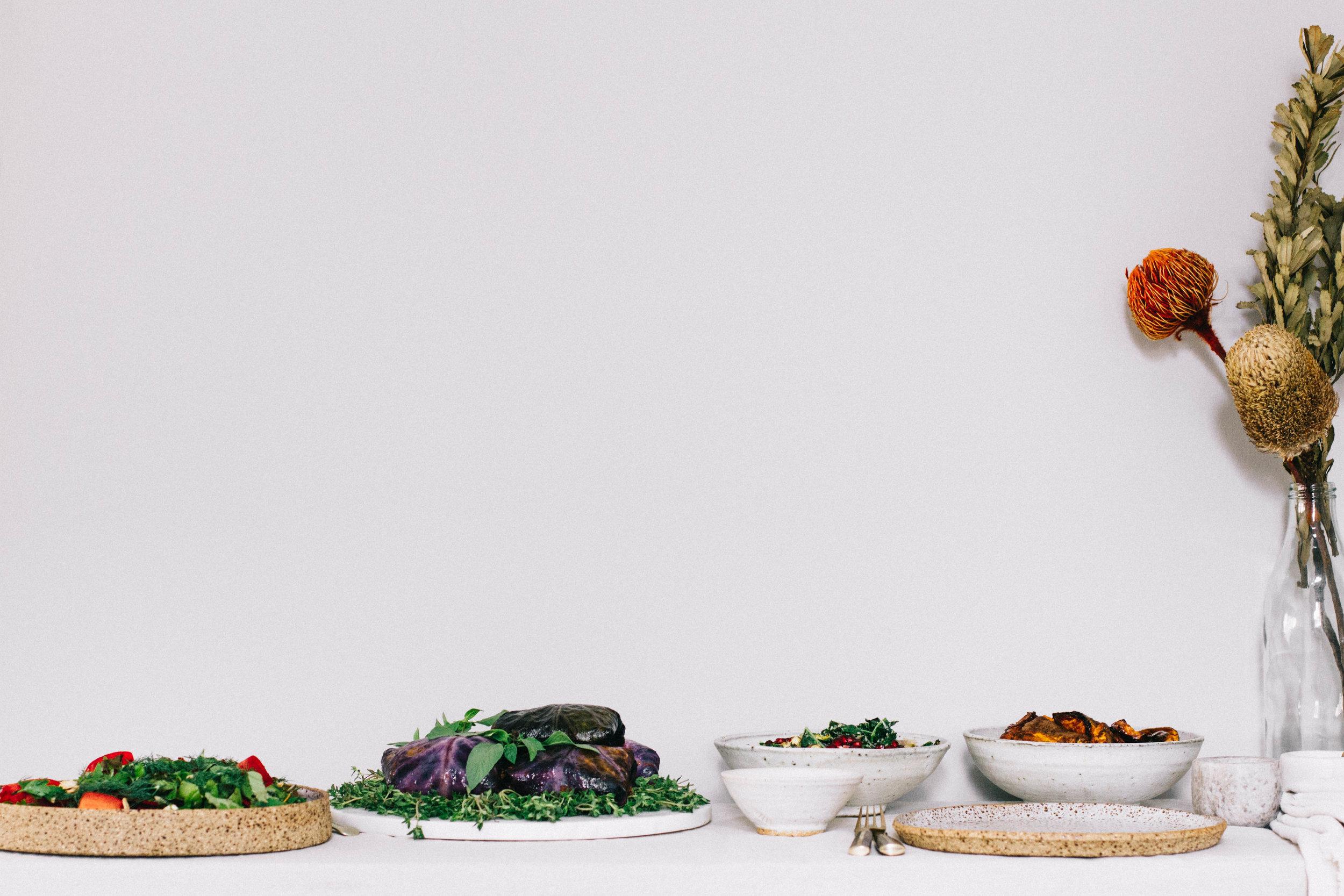 Festive Table⎜The Botanical Kitchen