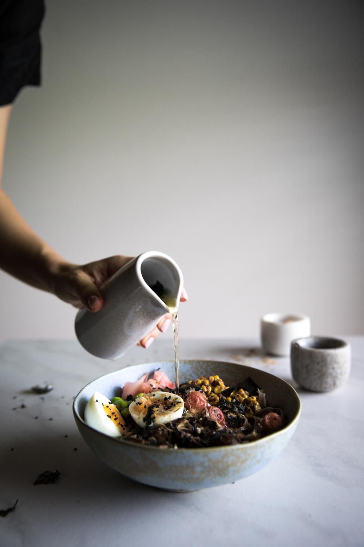 Warm Japanese Soba Bowl⎜The Botanical Kitchen