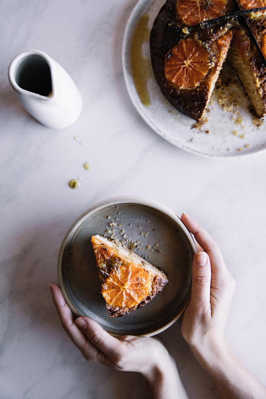 Orange, Lavender & Honey Cake⎜The Botanical Kitchen
