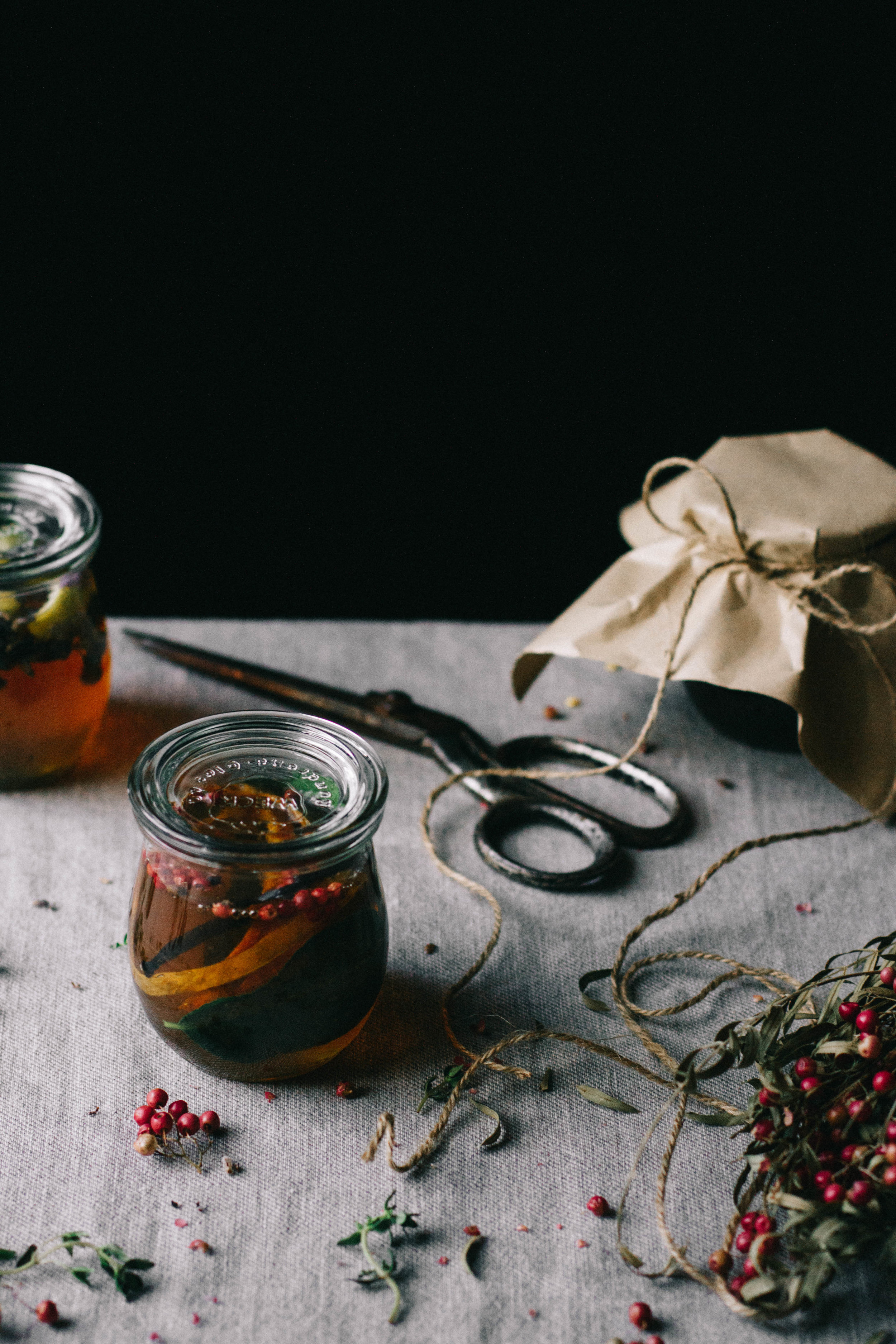 Infused Syrup Pots⎜Christmas Gift⎜The Botanical Kitchen