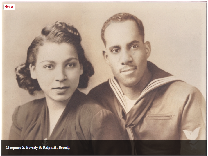 My grandparents in the 1940s