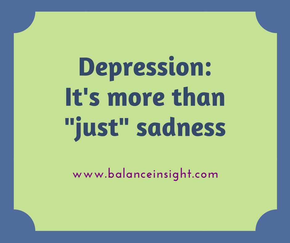 Depression Balance InSight Issaquah, WA