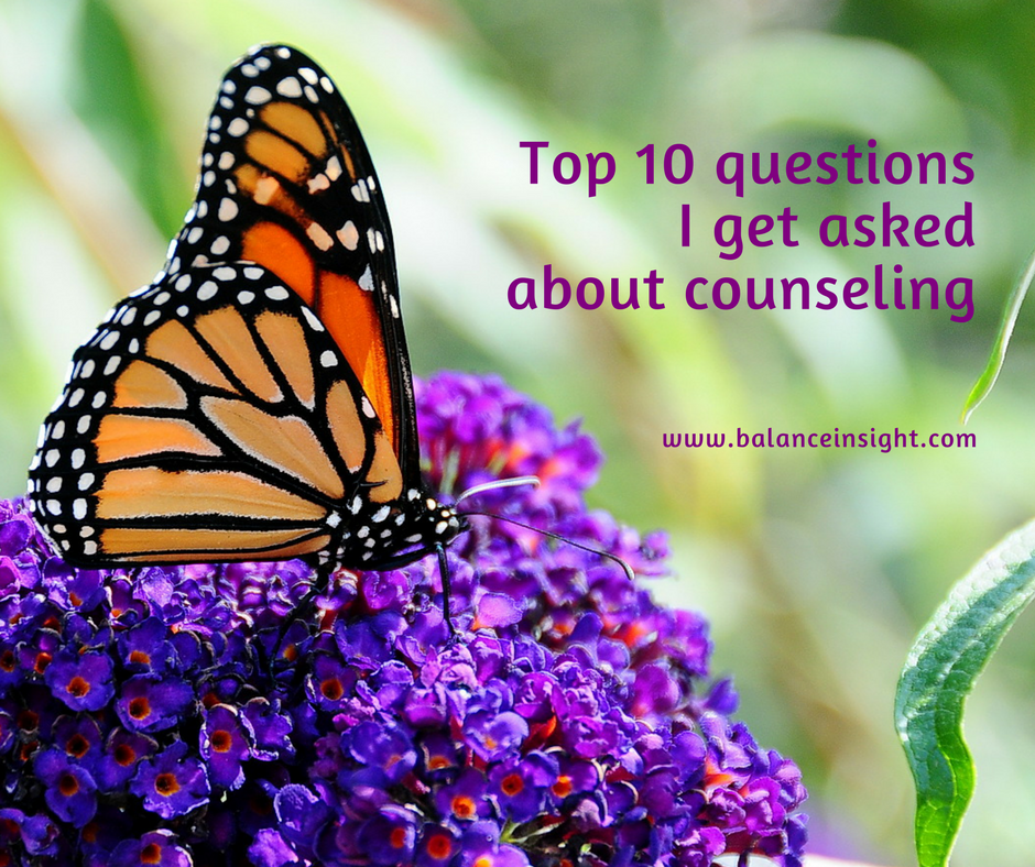 10 Qs about counseling