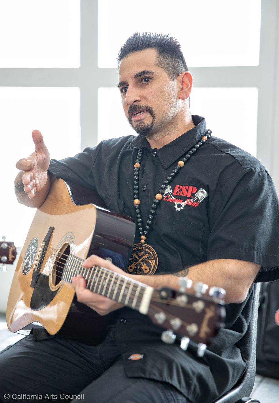 """…[I]t only made sense to get involved with such an amazing organization such as Jail Guitar Doors"" - - Gabe Rosales"