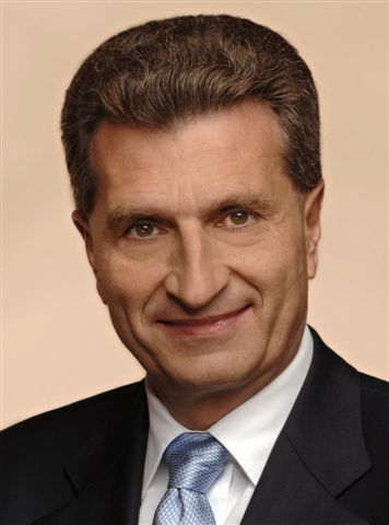 Günther Oettinger    Biography