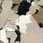 1 inch epoxy garage floor chip
