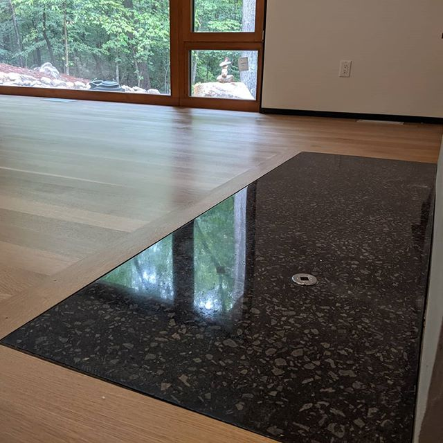 Fun casting project 25mm thic  #polishedconcrete #hiperfloor  #concretepolishing  #concrete  #PG680RC  #architecture