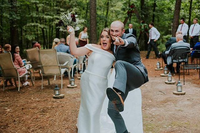 You both rocked your wedding yesterday and now you'll get to rock at marriage 4eva. . . . . . . . . . . #somewhatphotography #weddingseason #texasphotographer #instagood #texasbrides #southernbrides #junebugweddings #greenweddingshoes #greenvilletxphotographer #roysecityphotographer #sulphurspringstx #northtexasbrides #radlovestories #authenticlovemag #belovedstories