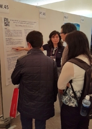 Cristina Rusu presented RISE Acreo's work.