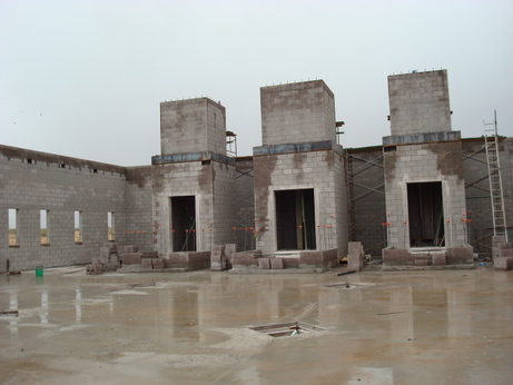 Main Shrines Middle of Construction (2008)