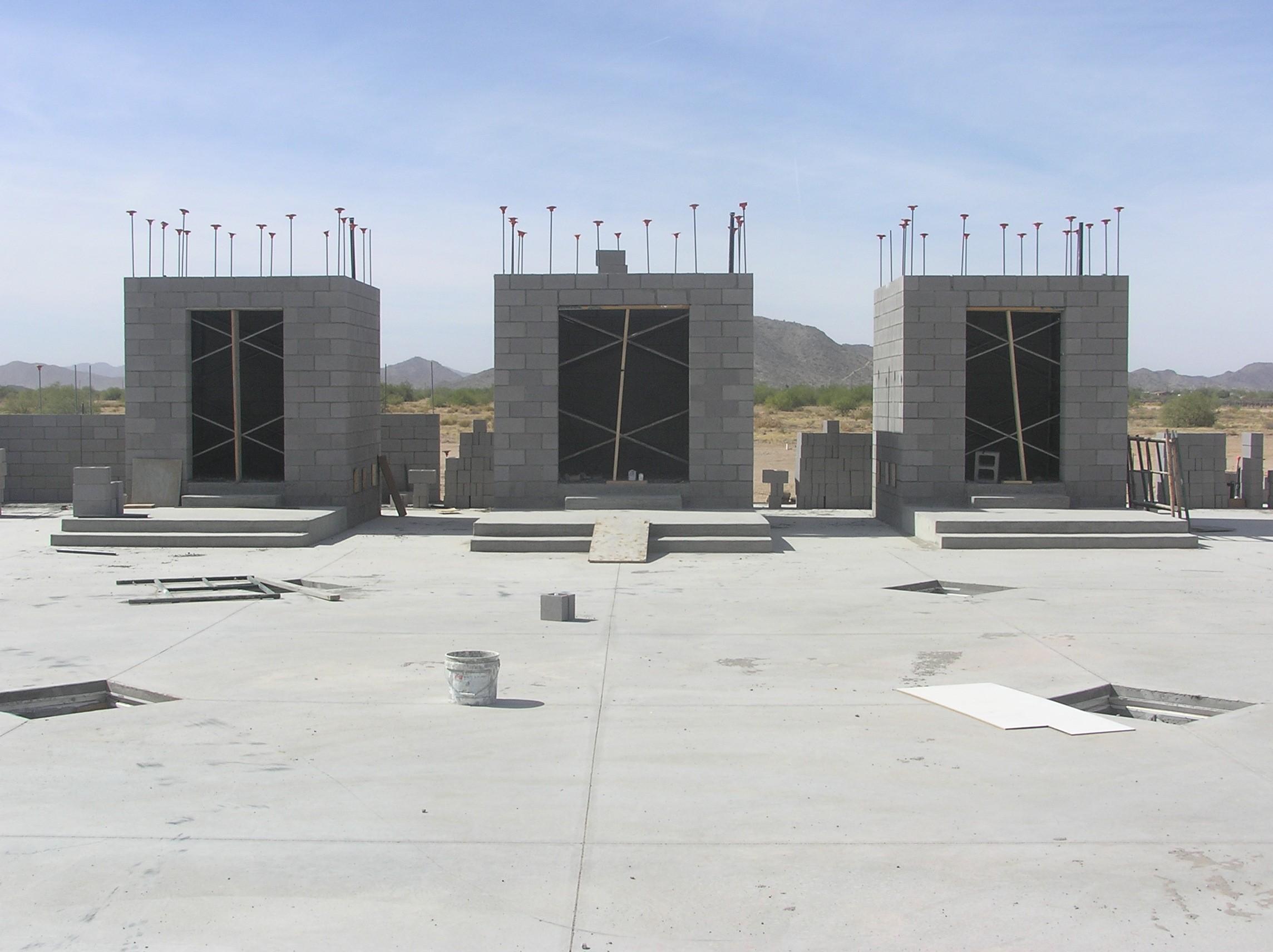 Main Shrines Under Construction (2008)