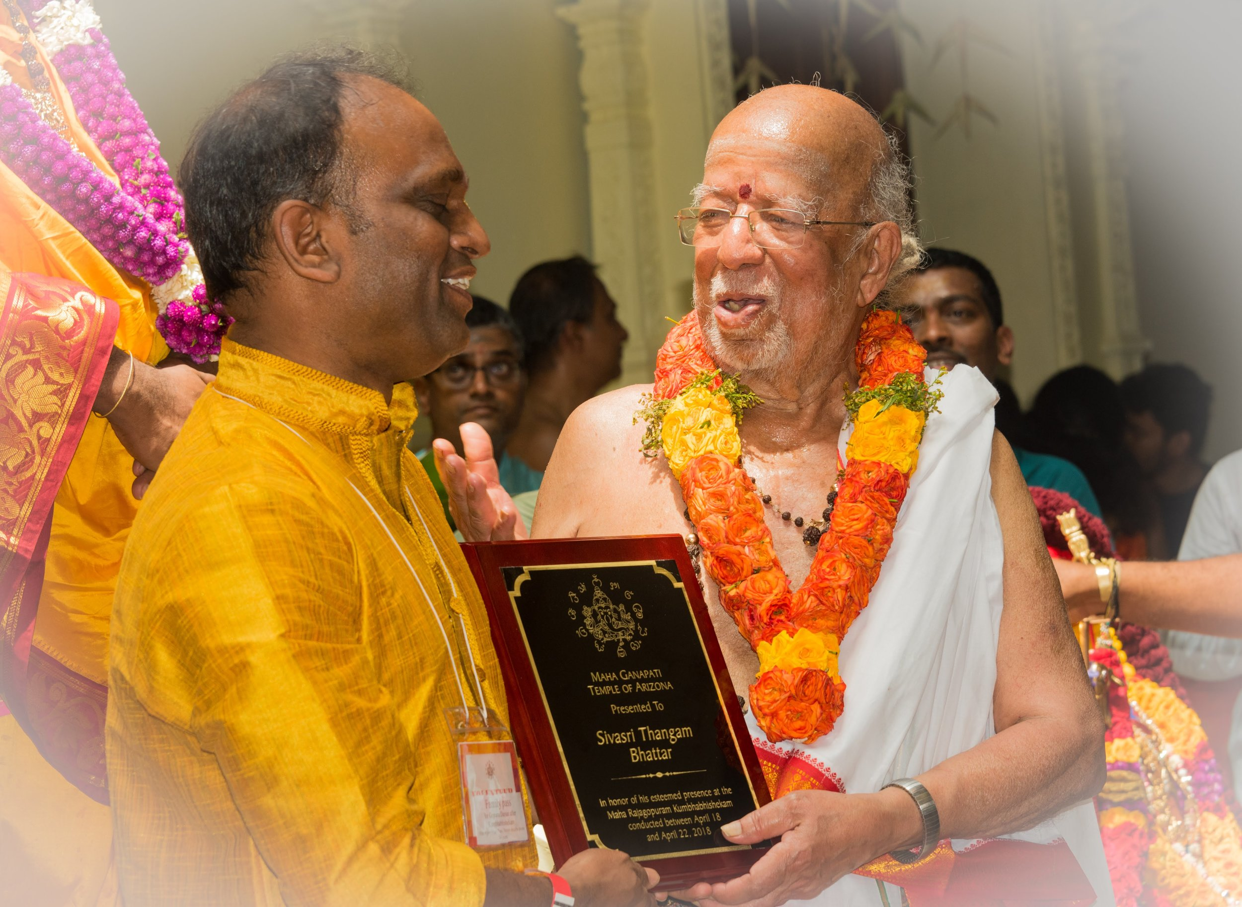 Honoring Acharyas @ MRGK