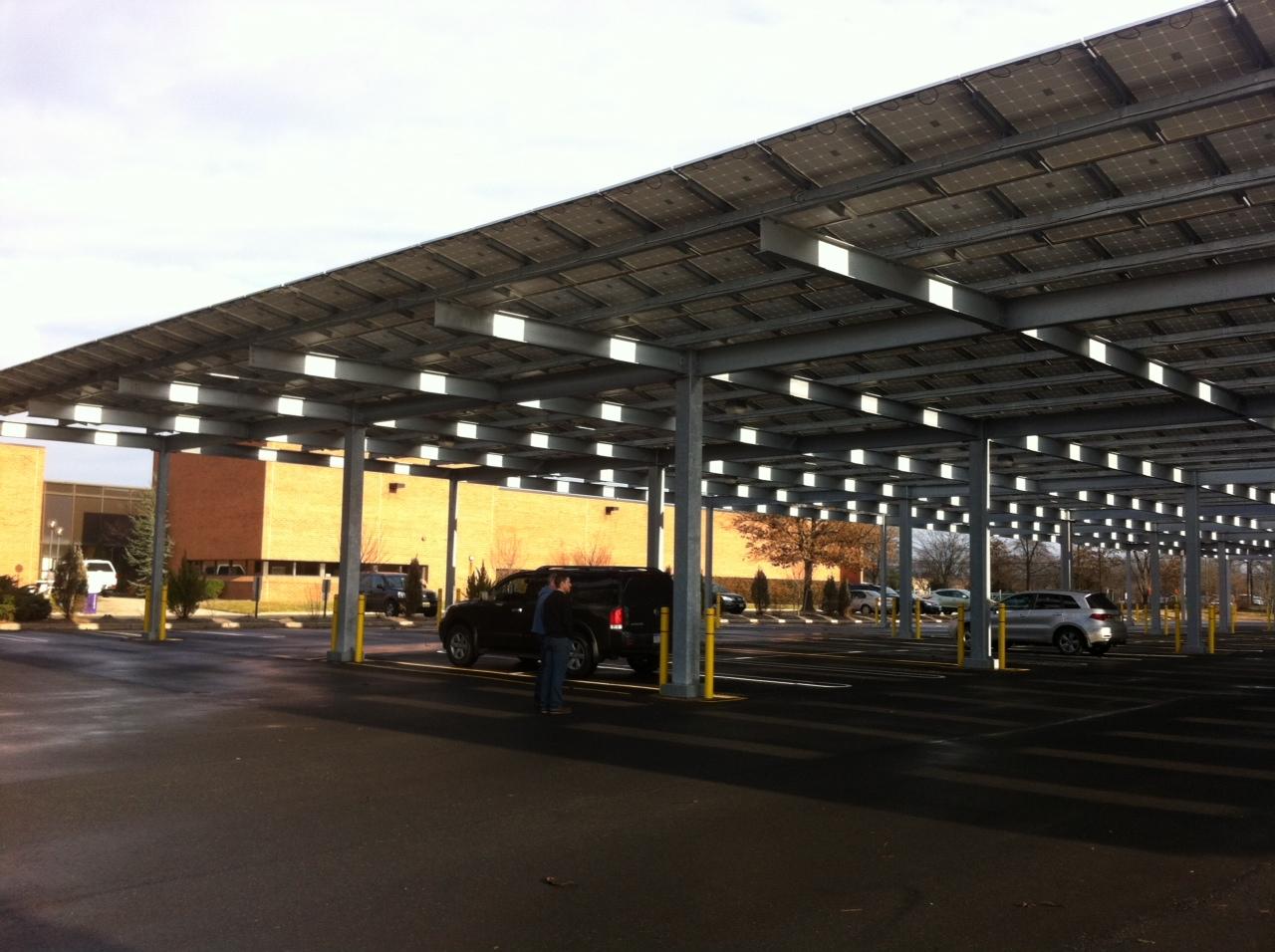 Deutsche Bank - Solar Carport 3