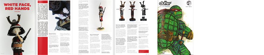 Clutter Magazine - Feature & Interview -  read here