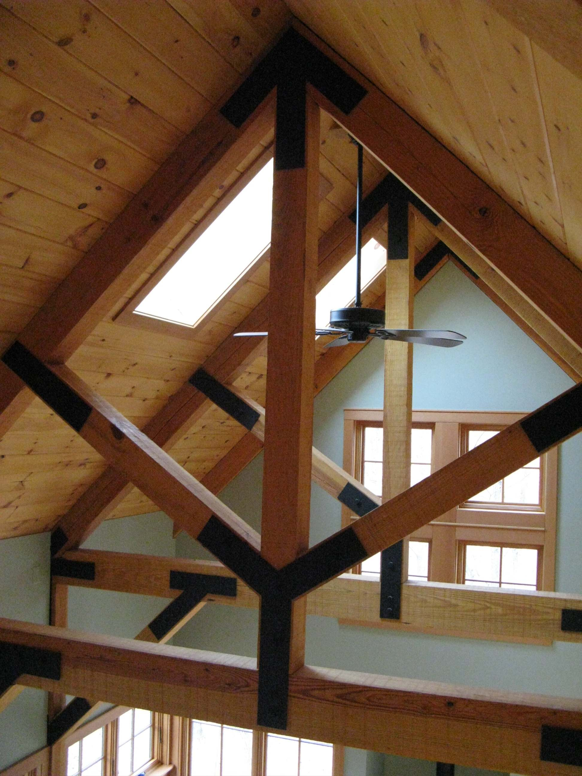 Custom Wood Trusses and Skylights