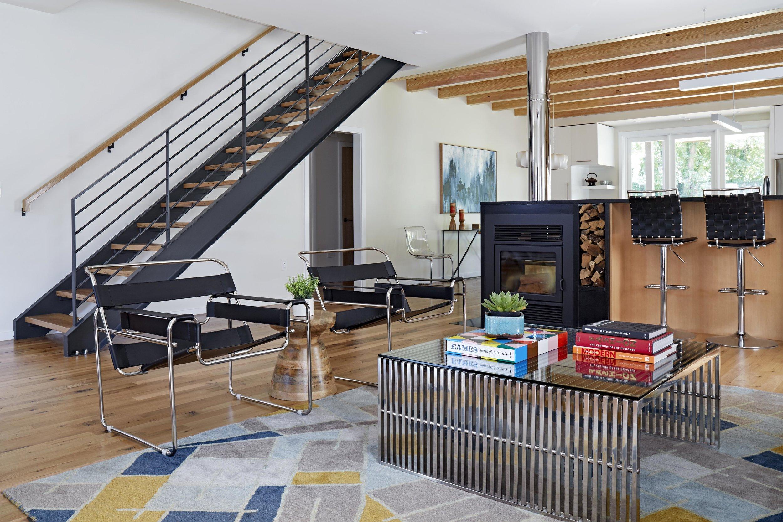 Steel Framed Staircase