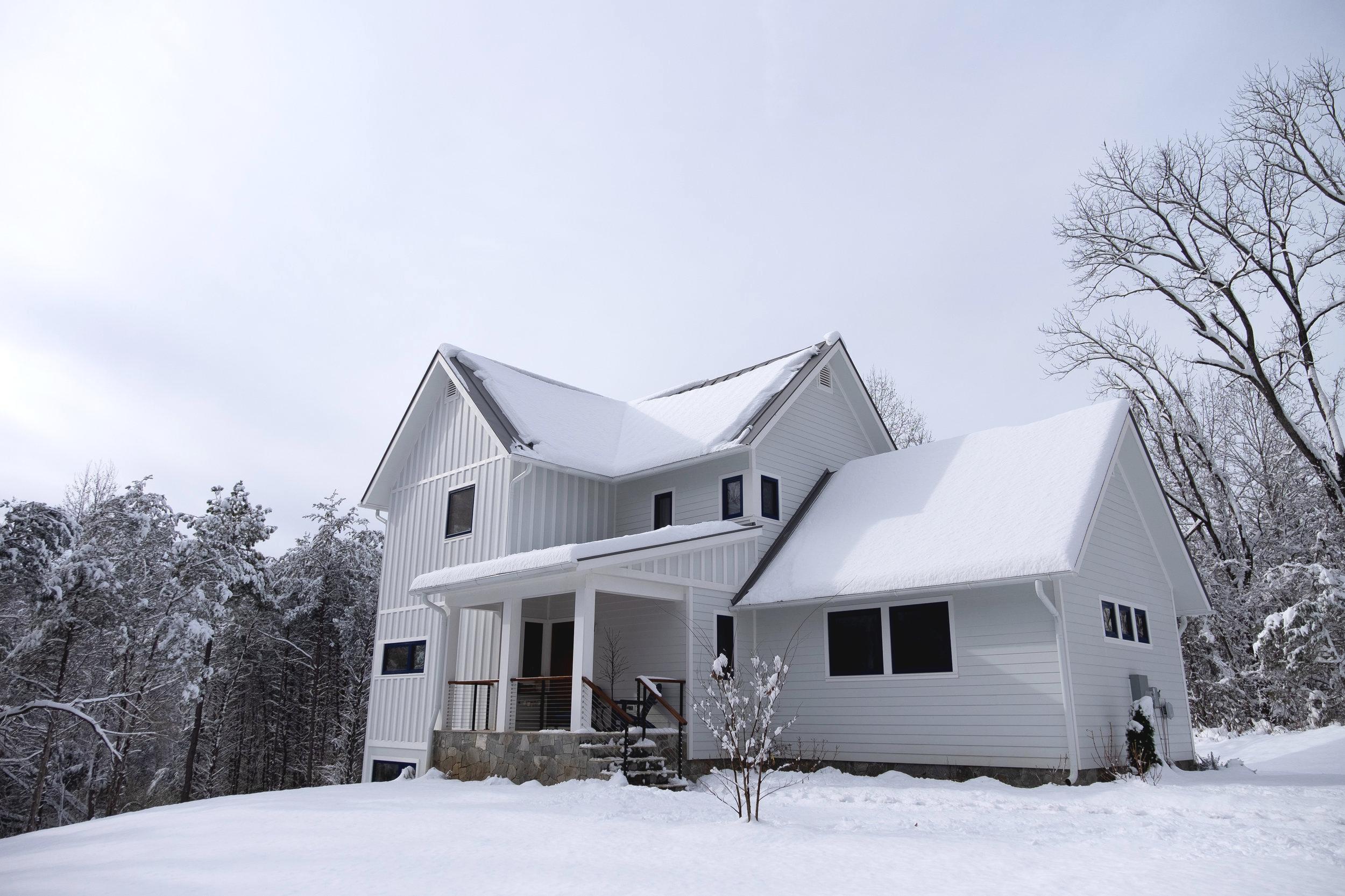 Franks Residence - East Elevation