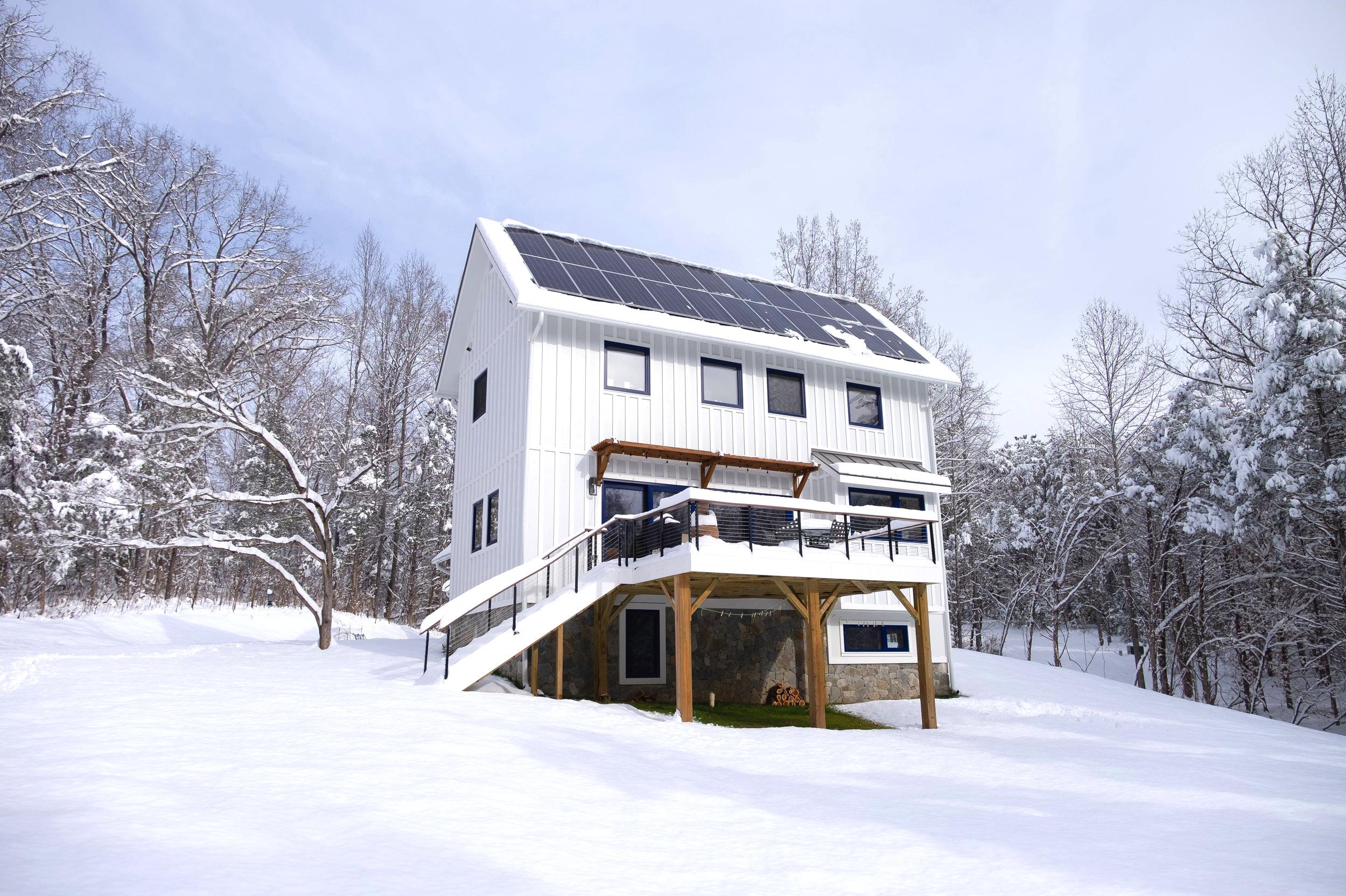 Franks Residence - South Elevation