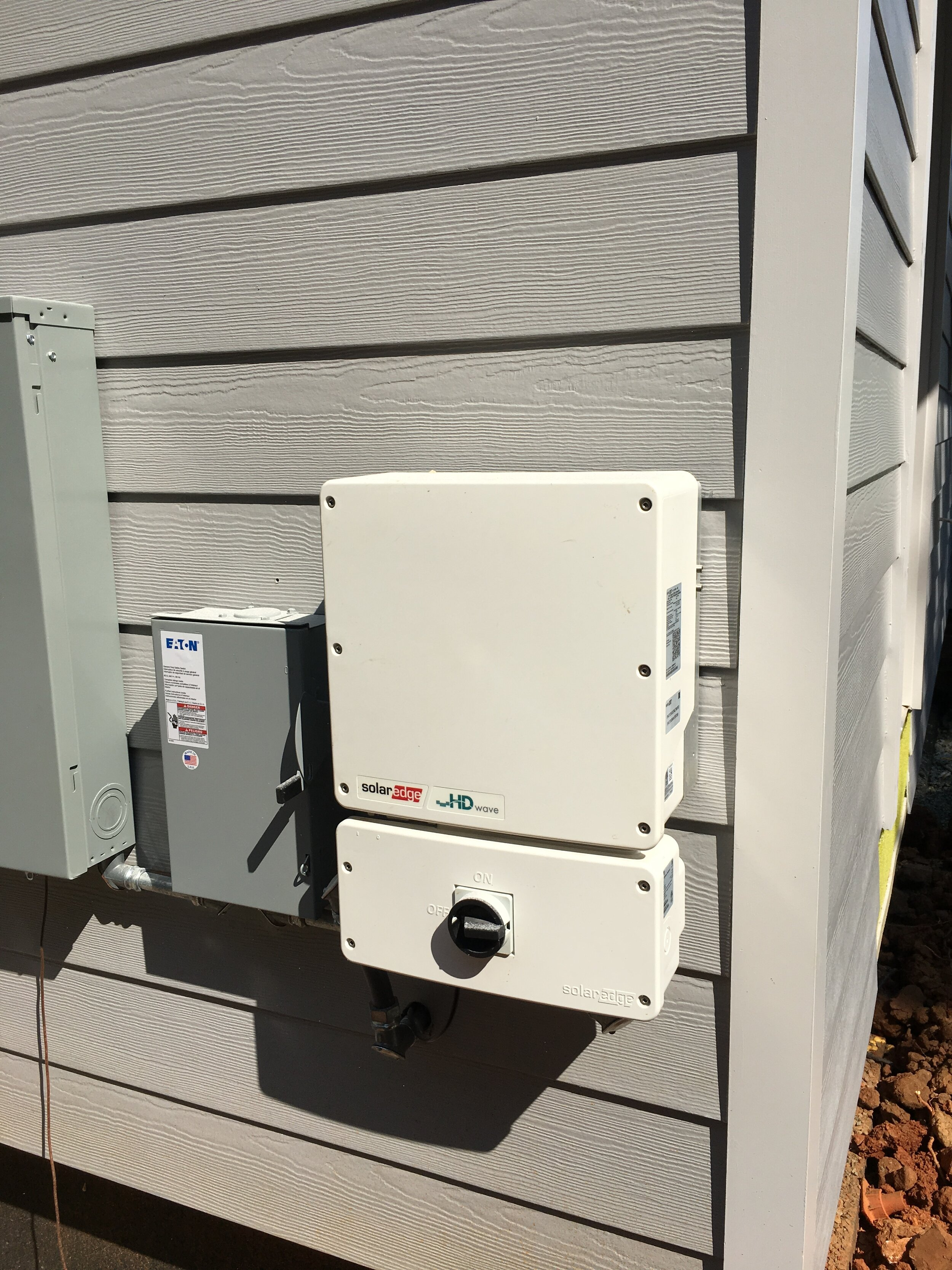 PV Disconnect and Inverter