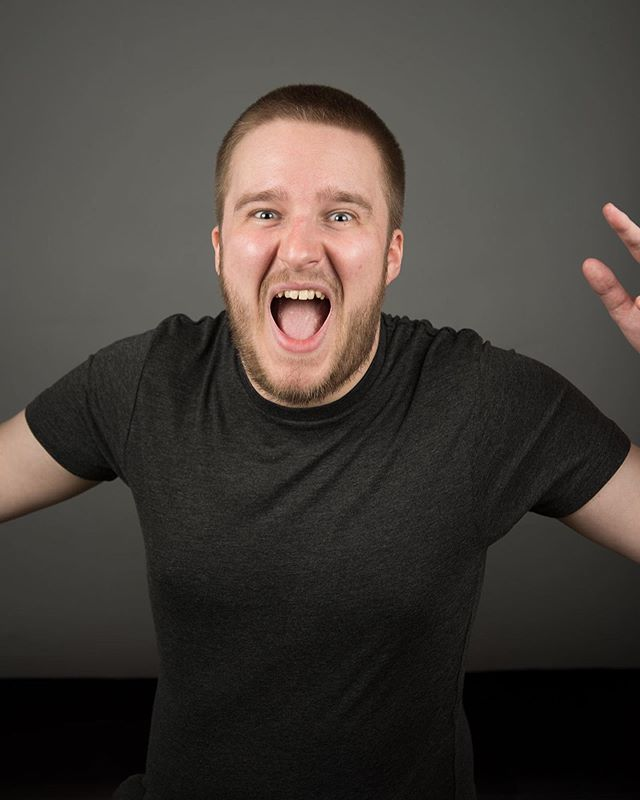 Now THIS is enthusiasm! Outtake from a headshot shoot today, with Eddie Webb #headshot #headshots #portrait #portraitphotography #actor #candid #natural #scream #shout #london #studio #photoshoot #nikon #nikonphotography #unedited #picoftheday #pictureoftheday  #photooftheday #hireme #followme