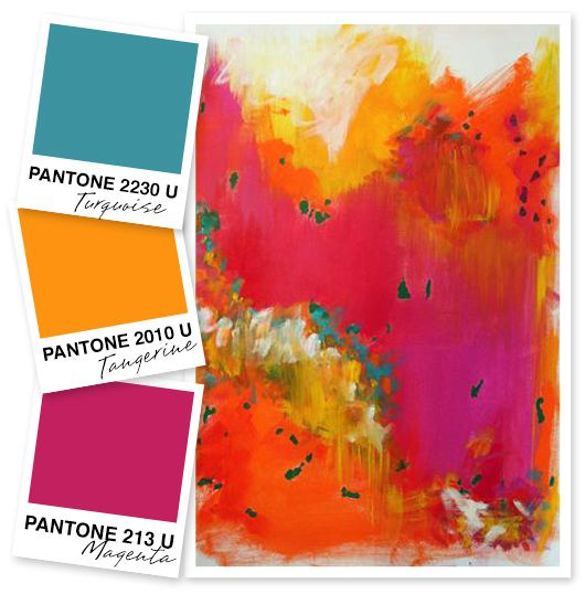 Colour palette from  Sarahhearts.com