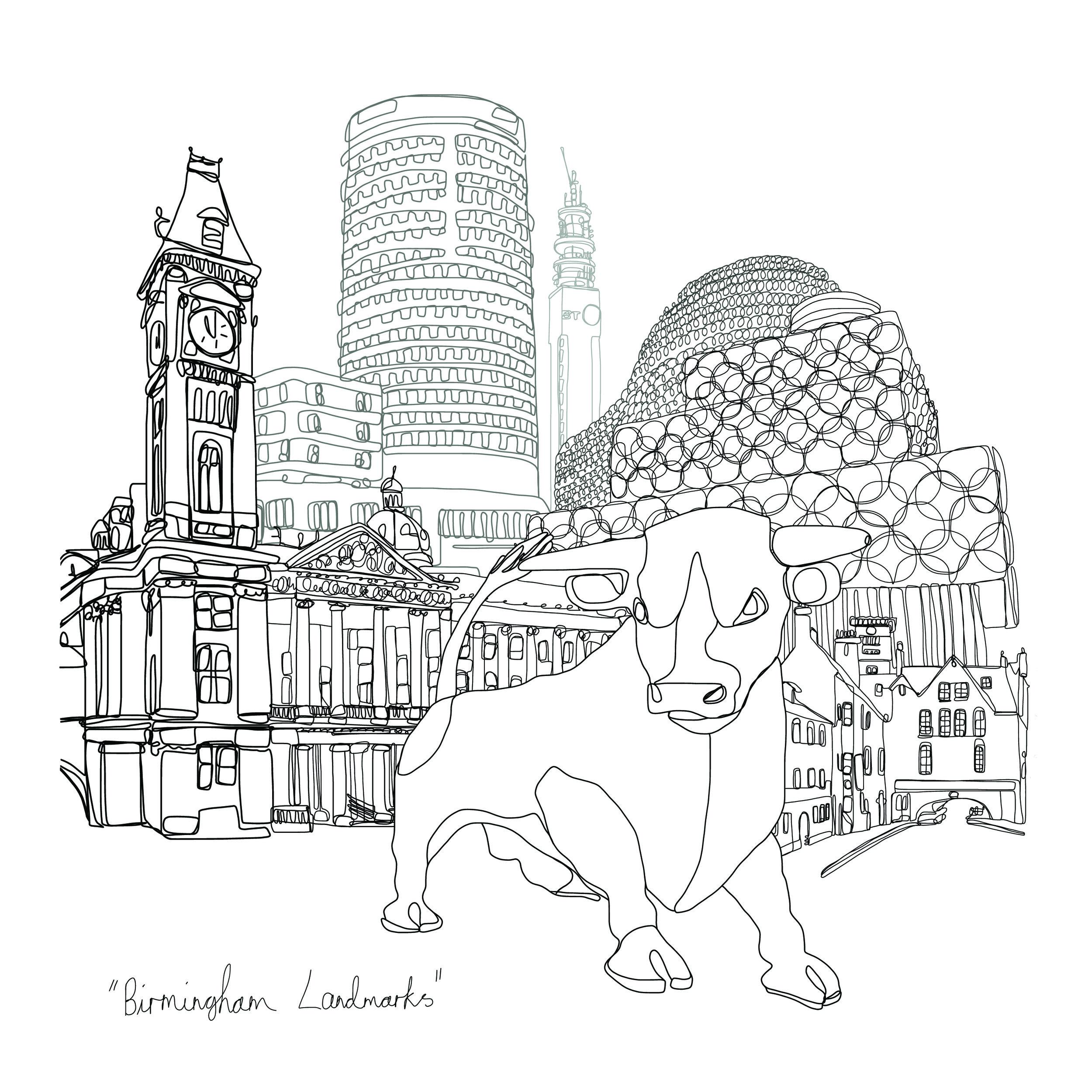 Birmingham Landmarks