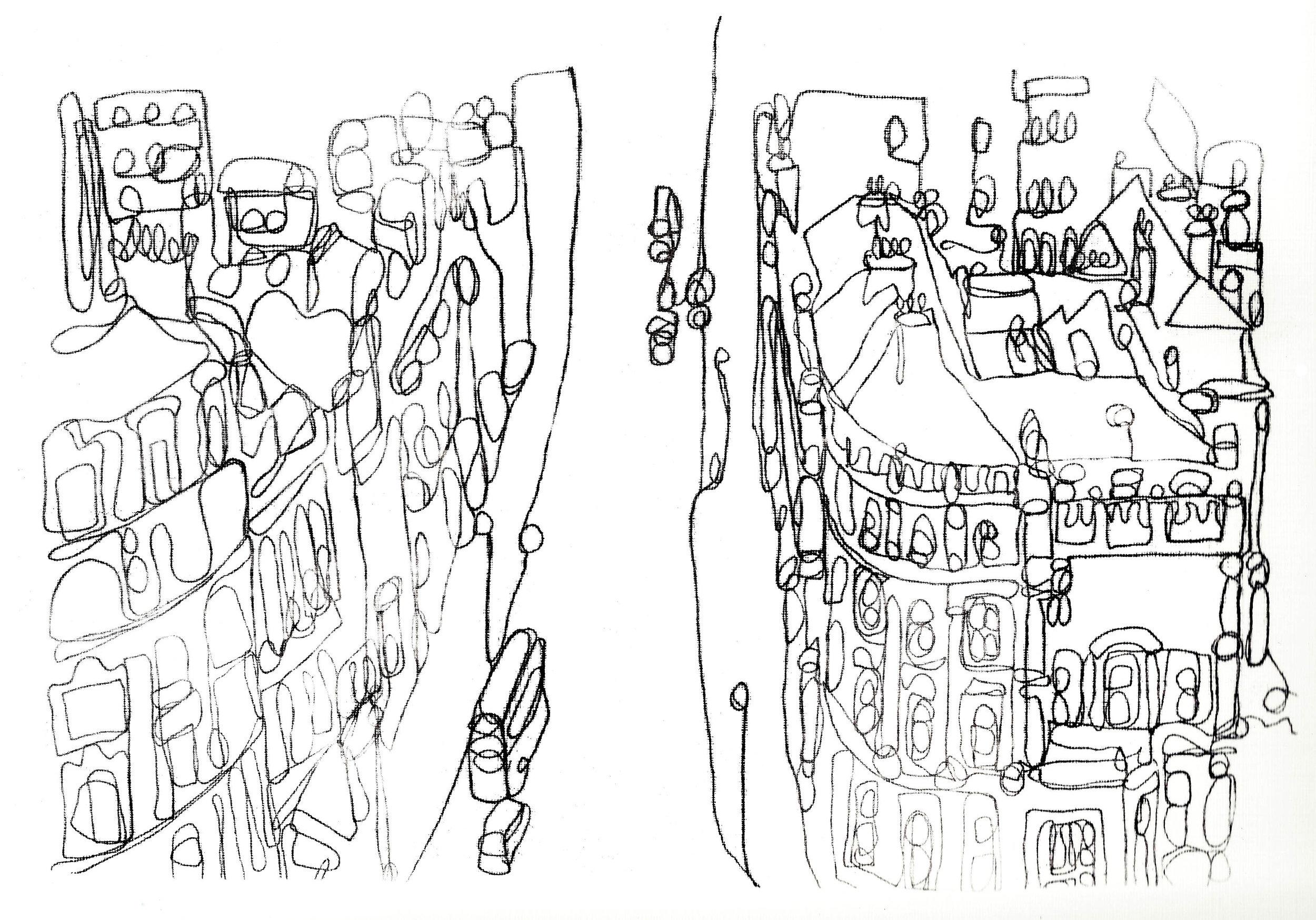 London View Monoprint