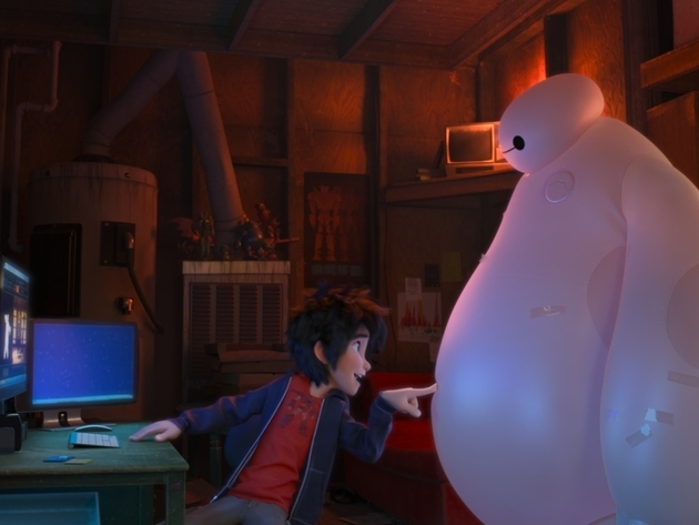 Scene from Big Hero 6.  Disney.com