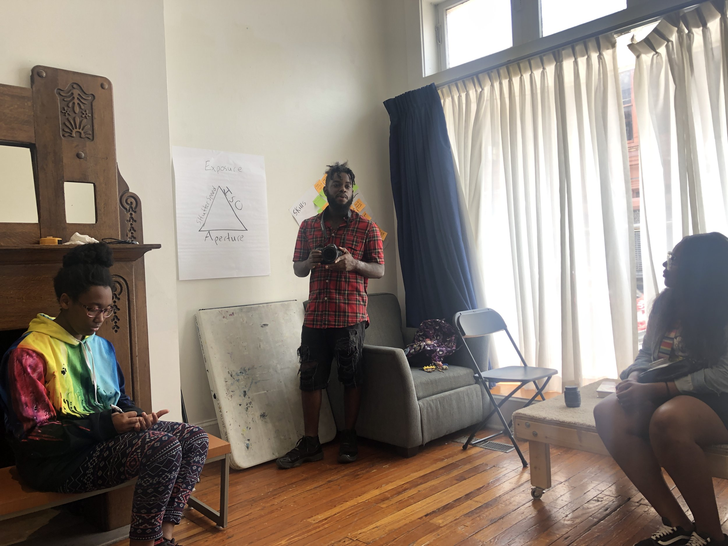 Kyle Yearwood, a motion graphics artist from Baltimore City, talks to the Mixed Media Team about his experience and artwork using photography and animation.