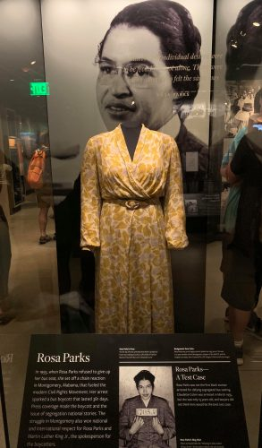 Image courtesy of High Point University's Educational Leadership and Policy in D.C. 2019 Blog:  http://www.highpoint.edu/education/2019/05/21/national-museum-of-african-american-history-and-culture/