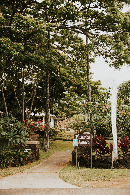 Katie Nick Plantation Gardens Kauai Hawaii Wedding