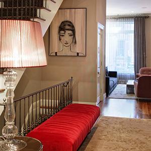 Private apartment, New York.