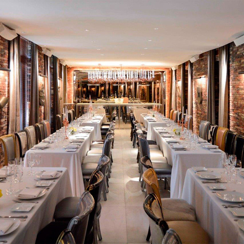 Ramses restaurant by Philippe Starck, Madrid.