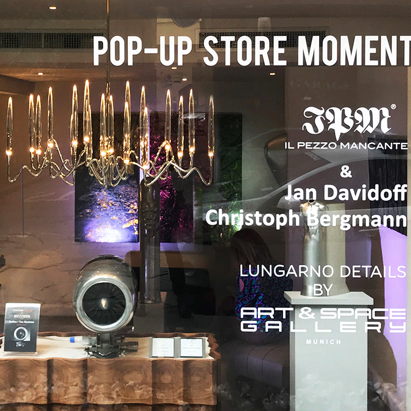 Pop Up Store Momentum Gallery, Florence.