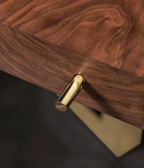 The serial number on Il Pezzo 6 Table by Il Pezzo Mancante