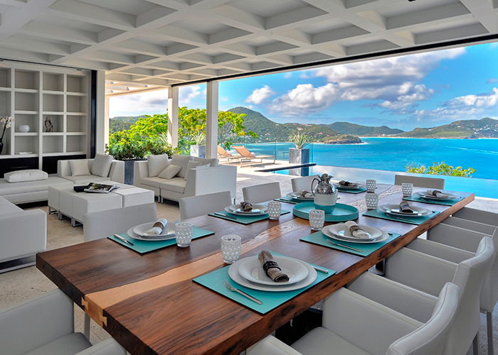 Private villa, St. Barth.
