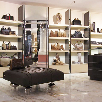 Prada and Gucci store, Baden Baden.