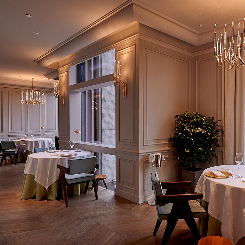 Da Vittorio, 3 Michelin stars restaurant, Shanghai.