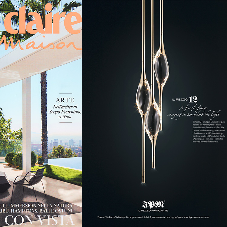 Adv featured in Marie Claire Maison__July/August 2019
