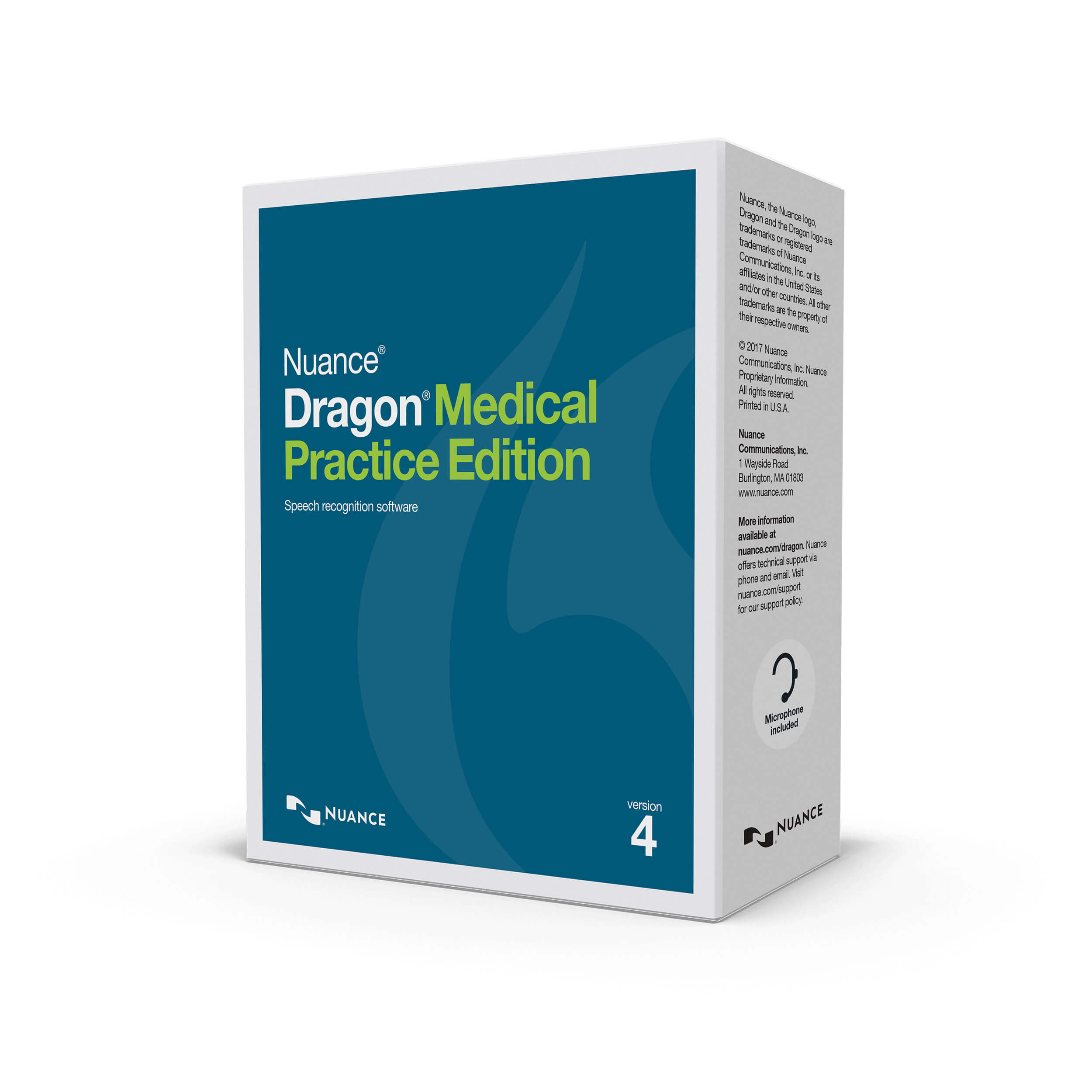Nuance Dragon Medical Practice Edition 4 builds on the previous edition's proven strengths and techniques. With over500,000 physicians using our software worldwide, Nuance Dragon Medical Practice is the most widely used speech recognition software in the industry. With this new upgrade, clinicians and physicians can expect to enjoy a more productive work environment, thanks to an array of new features. -
