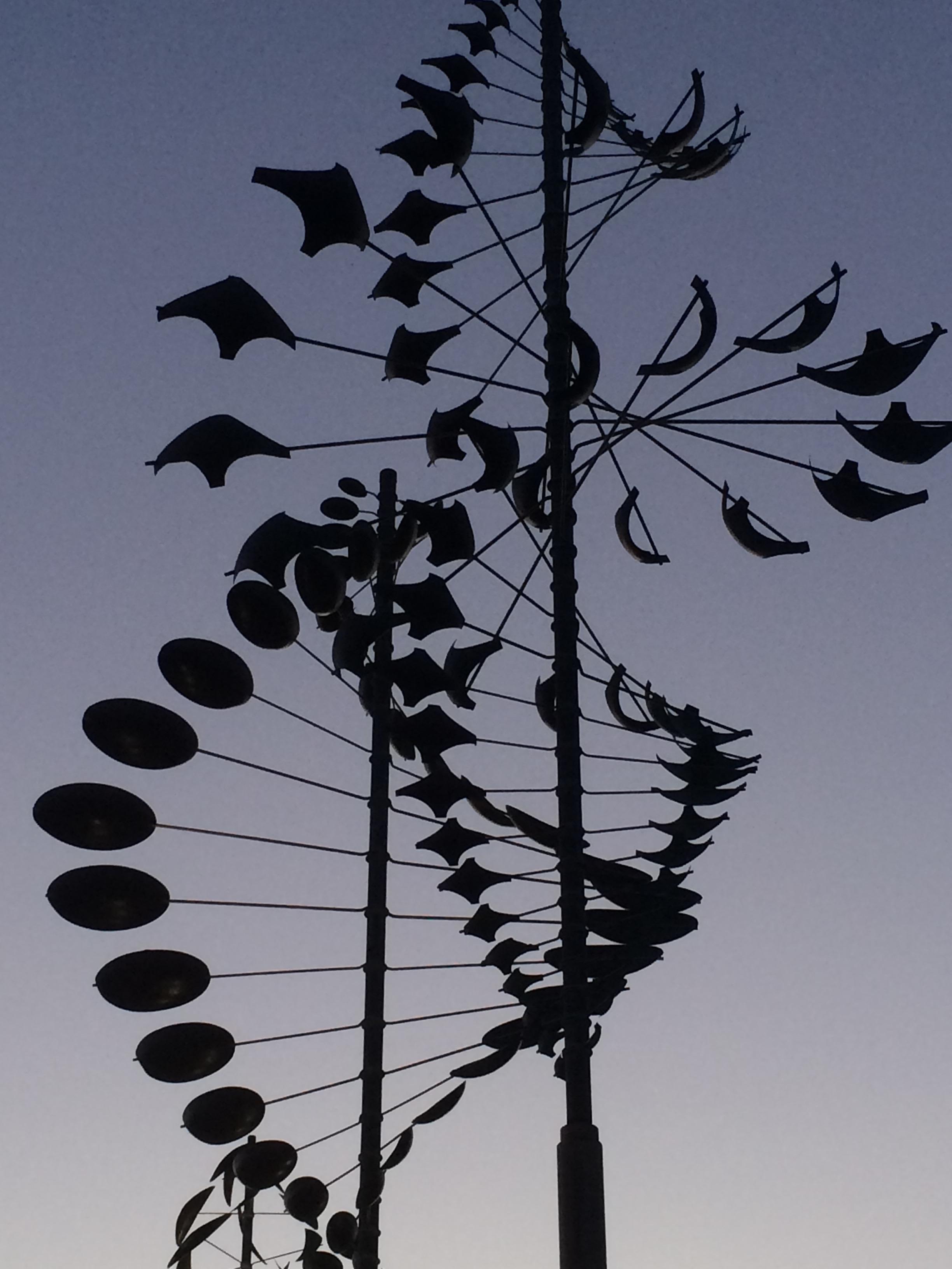 """Wind Scultpures"""