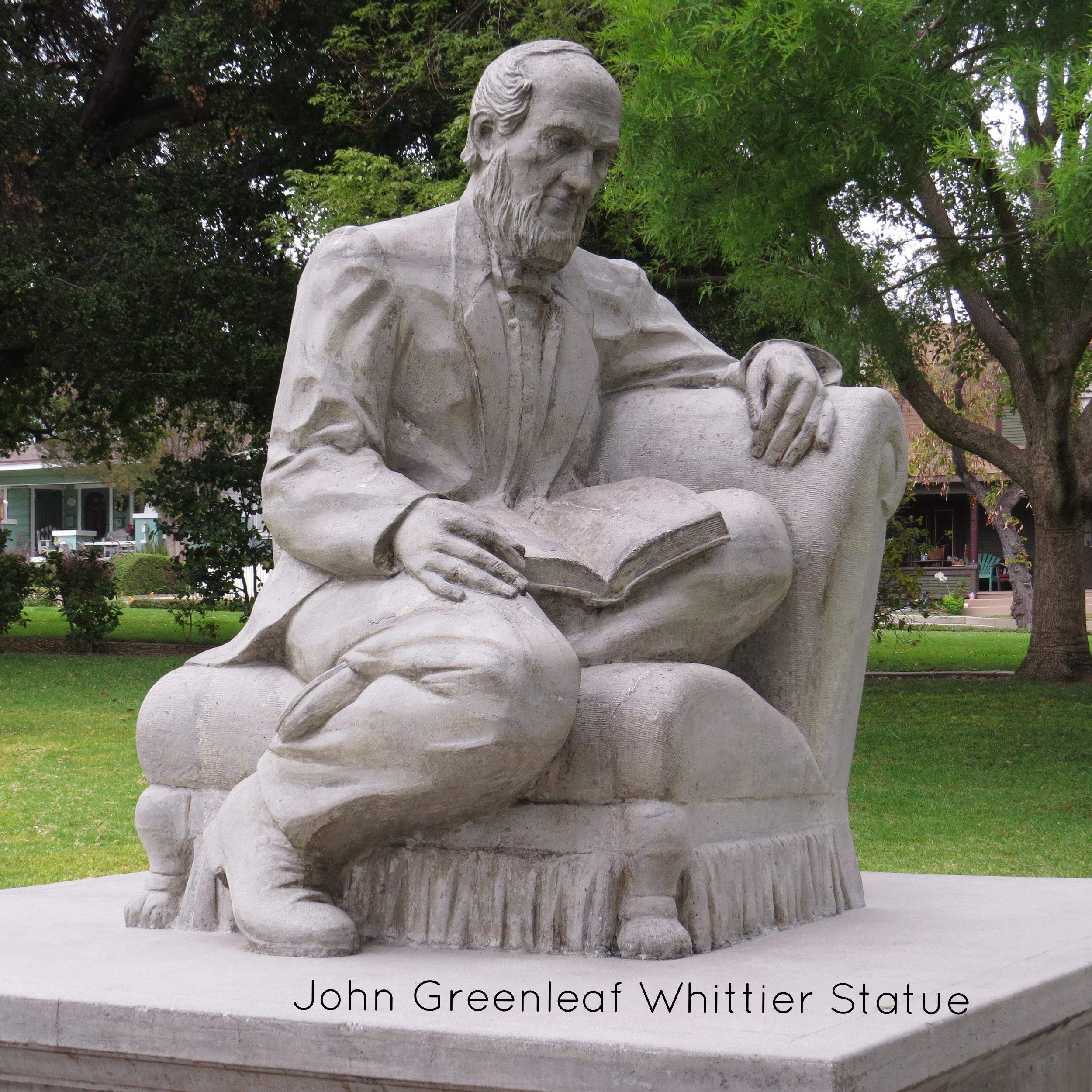 John Greenleaf Whittier Statue.jpg