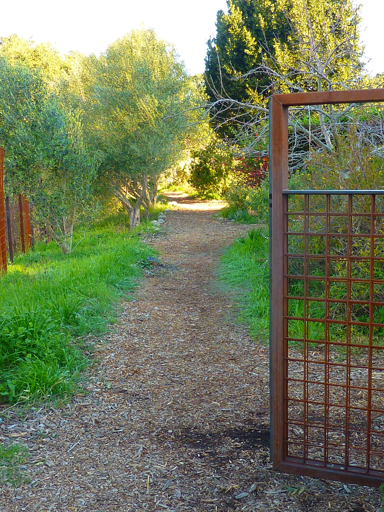 ENTRANCE TO THE EDIBLE SCHOOLYARD