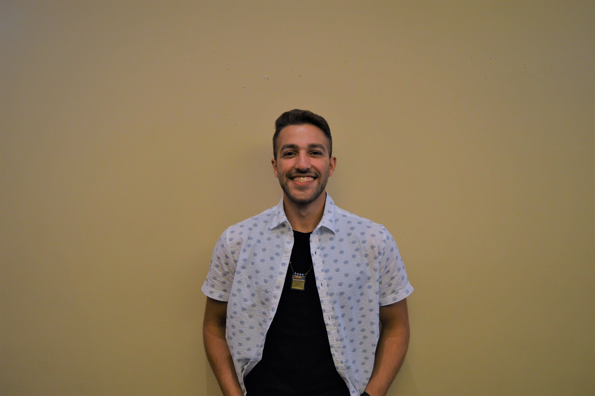 Riad Hassan Abul-Khoudoud - Class and Major: Biology 21UTSG Position: Associate Chief JusticeEmail: riad.abulkhoudoud@rockets.utoledo.eduBiography: Go to dental school, specialize as either an orthodontist or maxillofacial sergeonUTSG Committees: SJCCampus Involvement: BBB, BUGS, Esports Club, Alpha phi omega, Alpha Elpsilon Delta, Pre-Dental Student Organization, MENAA, and Levis LeadershipOn Campus Goals: I would like to see a reversion of the unlimited meal plan where students were allowed to swipe other students in without having to worry about the number of guests swiped they have per semesterFavorite Color: Yellow