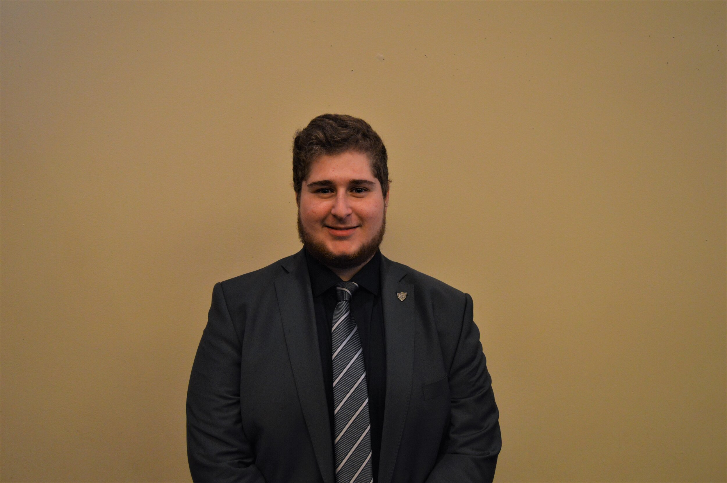 Volkan Dogan Alemdar - Class and Major: Information Systems 22UTSG Position: Appointed SenatorEmail: Volkan.alemdar@rockets.utoledo.eduBiography: I am a second year student at UT with ambitious plans for the future. One plan I am working on right now is establishing a network between Aramark and an International Food Wholesaler to introduce healthier food options to the meal ecosystem for the University.UTSG Committees: Campus Culture, Internal Affairs, External AffairsCampus Involvement: Kappa Delta Rho, AITP, CAPOn Campus Goals: Healthier food options and fresh water dispensaries.Favorite Color: Green