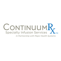 ContinuumRx partners with leading health systems and hospitals to provide a fully integrated specialty infusion service that improves care, lowers cost and provides a new source of revenue for our partners. The company's business model ensures a seamless transition from hospital to home for the patients needing home infusion and better aligns providers in the continuum of care. ContinuumRX is headquartered in Birmingham, AL.