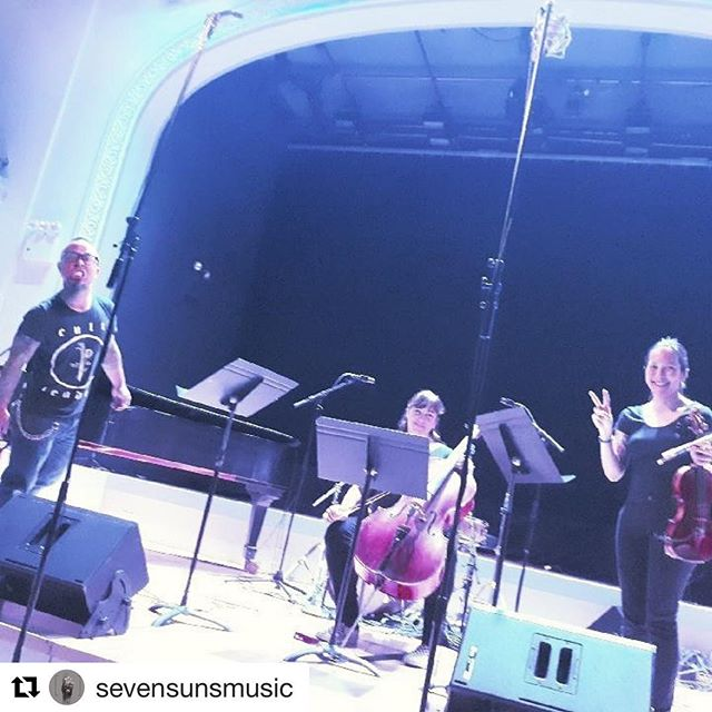 🔥🌶🔥🌶 #Repost @sevensunsmusic with @get_repost ・・・ Thanks everyone for coming out to @roulette_intermedium last night! @kittypalroy @cellofly @dethviolin bringing the 🔥🔥🔥🔥🔥#avantmetal #stringcore #punkhardcore #metal #azn 📸 @bobby.crumbcakes