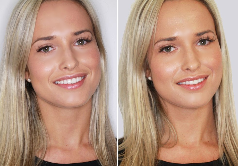 Maybelline for Cosmopolitan 'photobooth' shoot - High street vs luxury foundation - can you tell the difference? Featuring Cosmo staff.