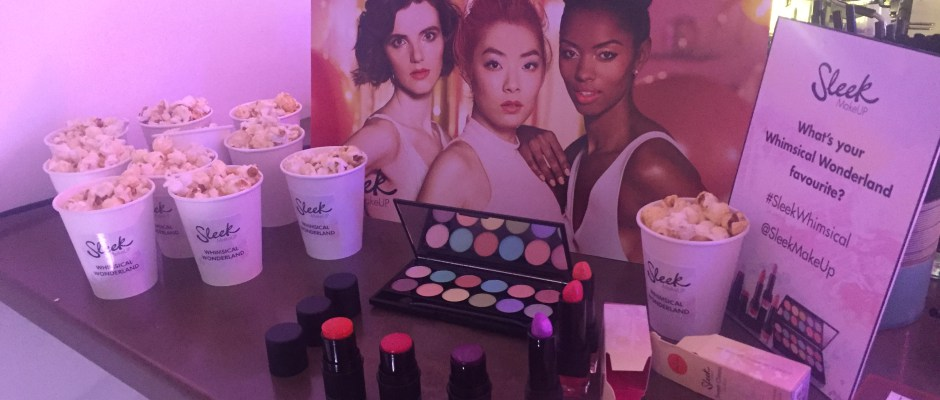 Sleek Launches Whimsical Wonderland Collection - What do scents of retro sweets and classic fairground rides have in common with makeup? They were the inspiration for the newest collection by Sleek – 'Whimsical Wonderland'.